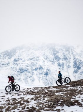 Fat tire biking in Alaska